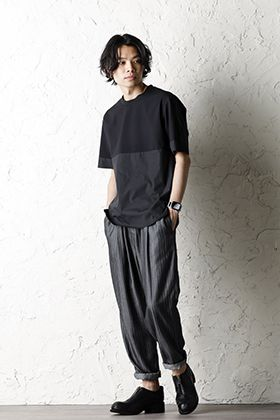 STEPHAN SCHNEIDER 20SS Switching T-shirt Style