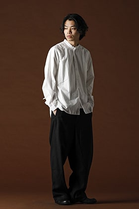 ANNASTESIA's Styling / Bergfabel  2020SS:Large Short Tyrol Shirt (Vol.1)