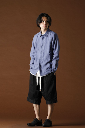 ANNASTESIA - individual sentiments 2020SS Thin Linen Cloth Shirt Styling