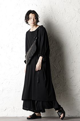 Yohji Yamamoto 20SS All Black Style For Summer