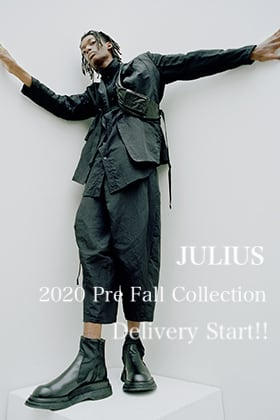 JULIUS 2020 Pre Fall Collection Delivery Start!!