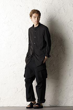 DEVOA 20SS Cargo pants Nylon shrink stretch Style