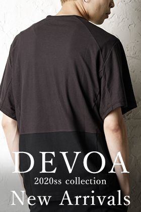 DEVOA 20SS Collection New Arrival!
