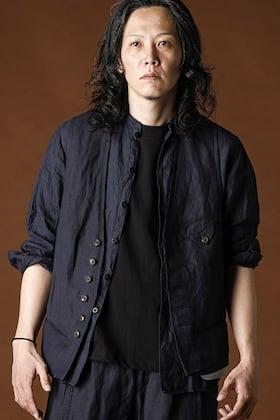 ANNASTESIA - Ziggy Chen 2020SS Linen Viscose Vest Styling