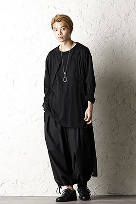 Yohj Yamamoto 20SS Jersey Outer Style