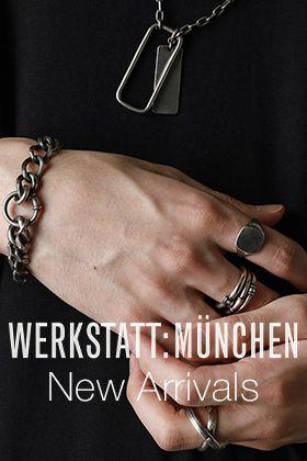 WERKSTATT MUNCHEN 20-21AW Collection New Arrival!