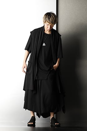 Ground Y Summer Black Avant-garde styling