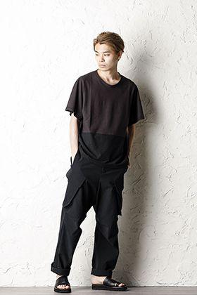 DEVOA 20SS Bicolor T-shirt Style