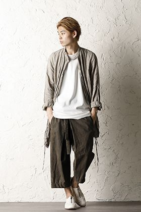 ZIGGY CHEN 20SS Refreshing earth color style