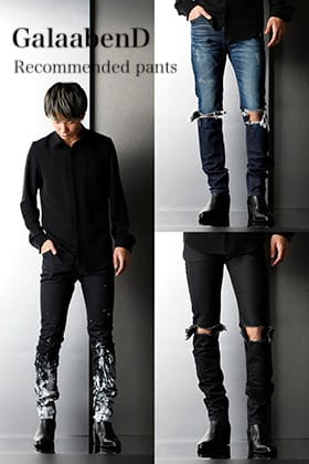 GalaabenD 20SS Recommended pants 3 Item
