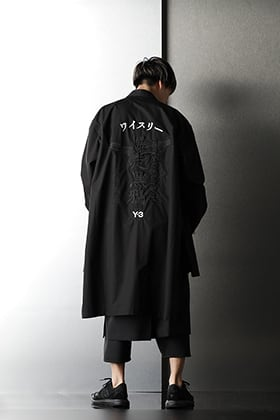 Y-3 & The Viridi-anne & Ground Y【KUROKARASU】Styling