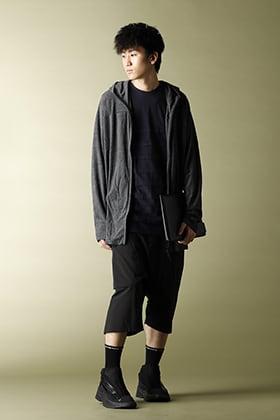 .LOGY Kyoto 20SS【CROSS NECK HOODIE】OLMETEX PANTS STYLE!