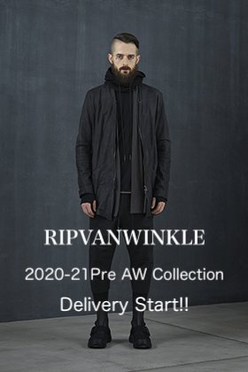 RIPVANWINKLE 2020-21 Pre AW Collection Delivery Start!!
