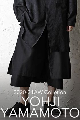Yohji Yamamoto 20-21AW 1st delivery Resumed sales of pants