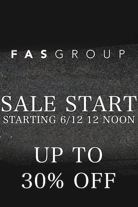 The first sale starts now!