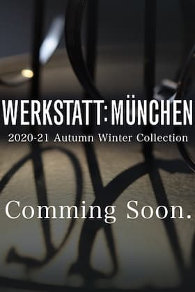 WERKSTATT: MÜNCHEN 2020 -21 AW collection coming soon online.