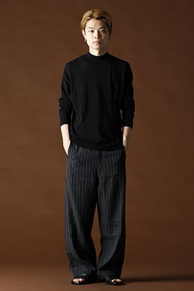 ANNASTESIA / DEVOA:Baggy Cropped Pants 3-Length Coordinate