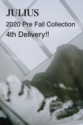JULIUS 20-21FW Collection 1st Delivery!!