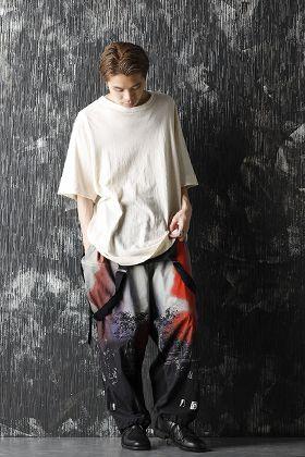 Yohji Yamamoto 20-21AW UCHIDA Twins Print Over All Style