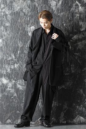 B Yohji Yamamoto 20-21AW Loose Silhouette Suit Style
