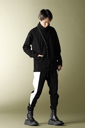 .LOGY Kyoto 20AW THE VIRIDI-ANNE【SIDE ZIP PANTS】MONOTONE STYLE!