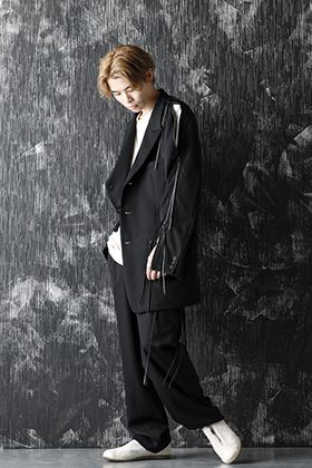 B Yohji Yamamoto 20-21AW Casual down style of a set-up suit