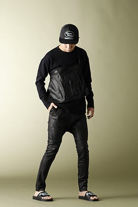 .LOGY kyoto RIPVANWINKLE 20AW【EXCLUSIVE BACK LINE L/S】LEATHER PANTS STYLE!!!
