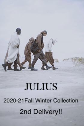 JULIUS 2020-21FW Collection 2nd Delivery!!