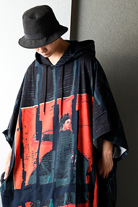 Ground Y 20AW Graphic Long hoodie styling