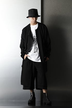 Ground Y 20AW Layered Monotone styling