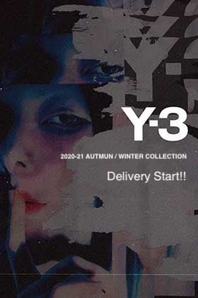 Y-3 2020-21AW Collection Delivery Start!!