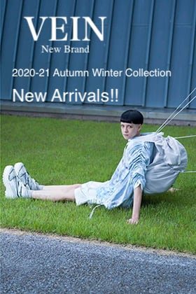 New Brand【VEIN】2020-21AW Collection New Arrivals!!
