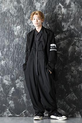 Yohji Yamamoto 20-21AW Overall On Jacket Style