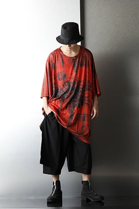 .Logy kyoto Ground Y 20-21AW Jumbo Cut Sew Short Styling