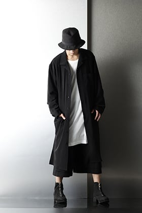 .Logy kyoto Ground Y 20-21AW No Fixing Long Shirt Styling