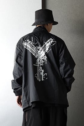 .Logy kyoto LOGO Coach jacket Styling