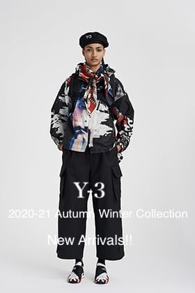 Y-3 2020-21AW Collection New Arrivals!!