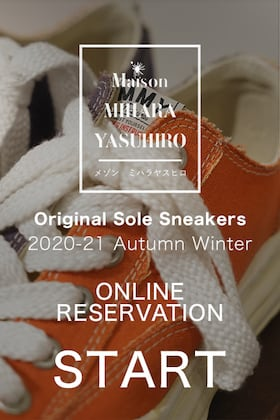 Maison MIHARAYASUHIRO Original Sole Sneakers additional reservation Start!!