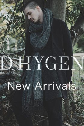 D.HYGEN 2020-21AW Collection 4 items New Arrivals