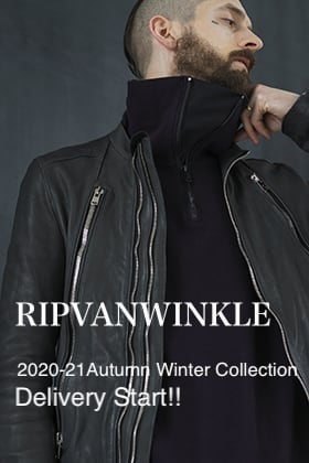 RIPVANWINKLE 2020-21 Autumn Winter Collection Delivery Start!!