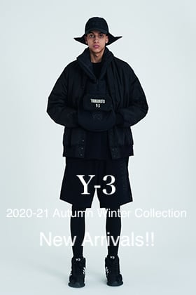 Y-3 2020-21AW Collection 3rd Delivery!!