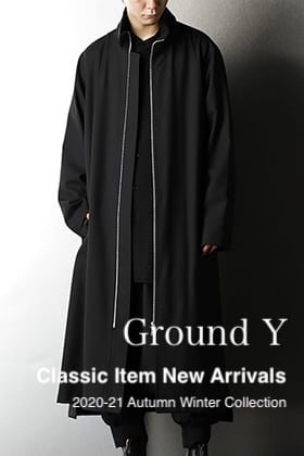 Ground Y 2020-21AW Classic Item New Arrivals