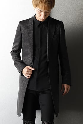 GalaabenD 2020-21AW Slim Fit Long Jacket Styling