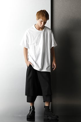 Ground Y 2020-21AW Classic Monotone Styling