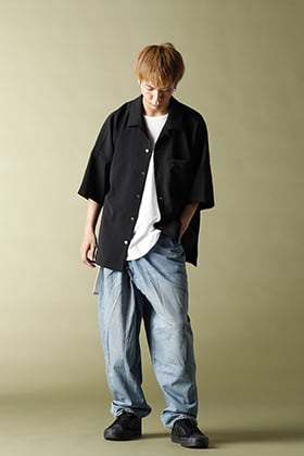 KAZUYUKI KUMAGAI【11oz denim Tapered wrap denim】Styling