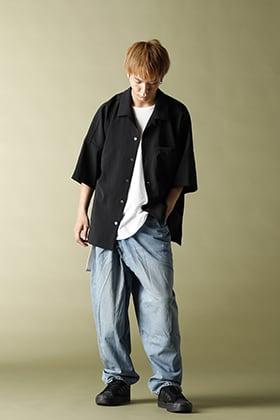 KAZUYUKI KUMAGAI【11oz denim Tapered wrap denim】Styling