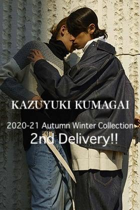 KAZUYUKI KUMAGAI 2020-21AW Collection 2nd Delivery!!