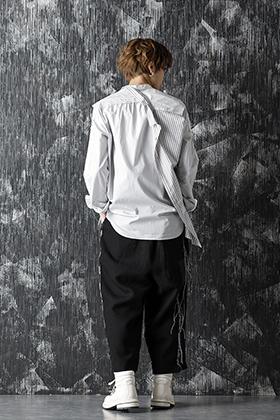 DUELLUM 20-21AW Paneled Shirt Style