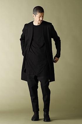 NOMEN NESCIO Long Minimal jacket Styling