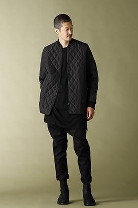 NOMEN NESCIO Quilted Jacket Styling